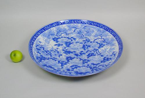 Good Large 19th Century Japanese Arita Ware Charger (1 of 7)
