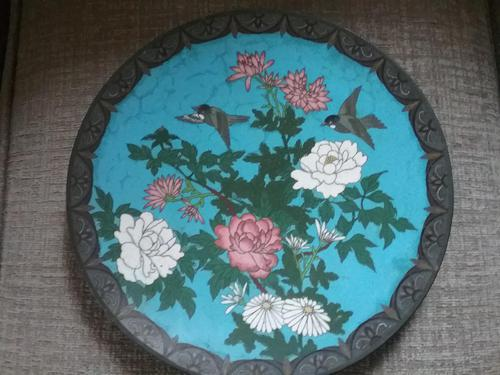 Cloisonné Plate / Charger (1 of 4)