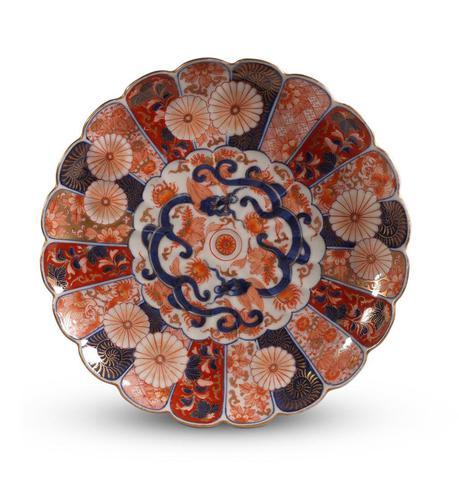 Meiji Period Imari Plate (1 of 3)