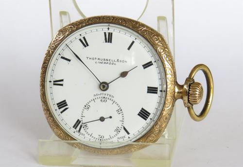 1930s Thomas Russell pocket watch (1 of 4)