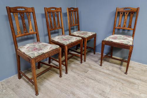 4 Arts & Crafts Chairs (1 of 7)