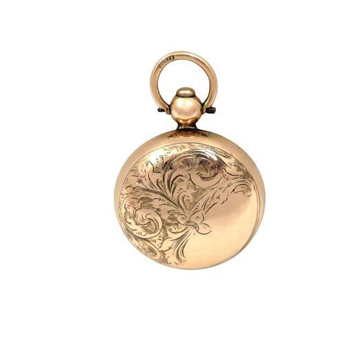 Antique Edwardian 9ct Gold Sovereign Case 1907 (1 of 9)