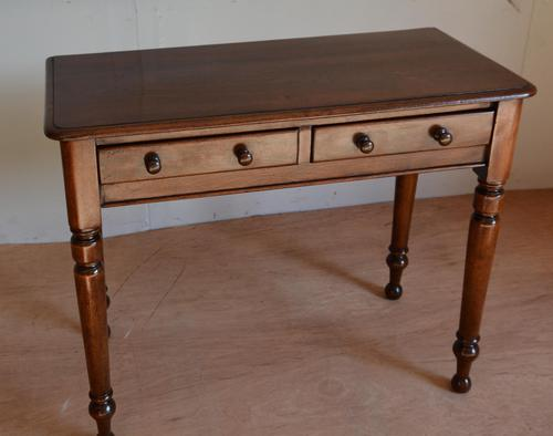 Victorian mahogany side table (1 of 3)