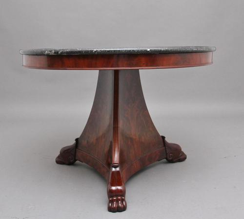 Early 19th Century Mahogany Gueridon / Center Table (1 of 9)