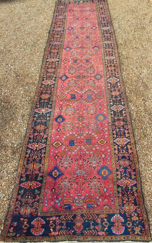 Antique Kurdish Runner Carpet (1 of 6)