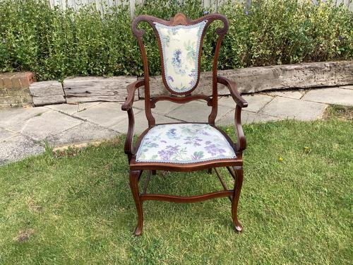 Edwardian Elbow Carver Chair (1 of 4)
