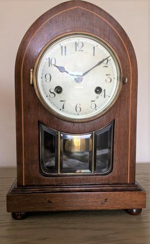 Fine Edwardian Eight Day Striking Clock (1 of 6)