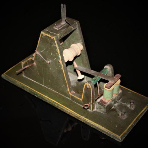 Hand-built Model of Samuel Morse's Telegraph Receiver c.1860 (1 of 9)