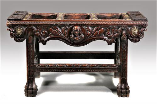 Late 19th Century European Carved Table (1 of 5)