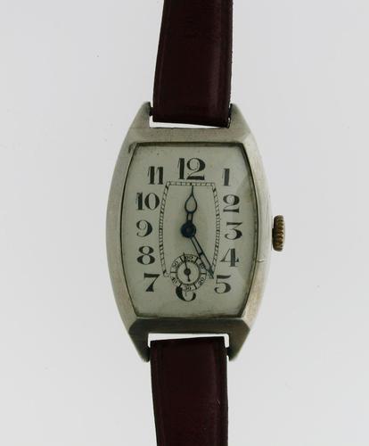 Silver 0.935 Art Deco Wristwatch Swiss 1930 (1 of 5)