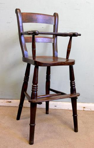 Antique Childs Windsor Highchair (1 of 12)