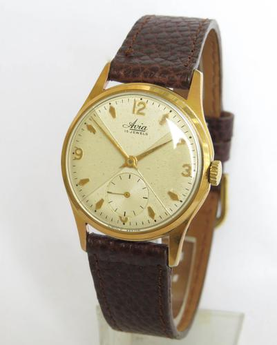 Gents Vintage 1950s Avia Wristwatch (1 of 5)