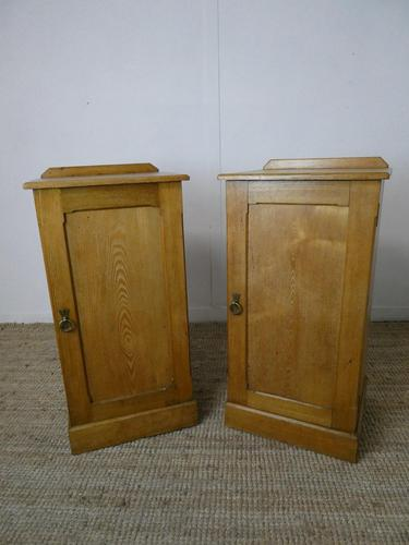 Pair of Scottish Ash Bedside Cabinets (1 of 9)