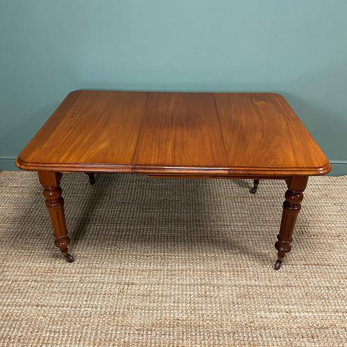 Small Quality Mahogany Antique Victorian Extending Dining Table (1 of 9)