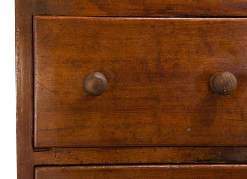 Pair of Mahogany Bedside Tables 19th Century (1 of 5)