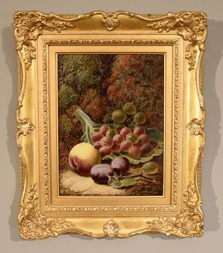 "Oil painting by Oilver Clare ""Gooseberries"" (1 of 5)"