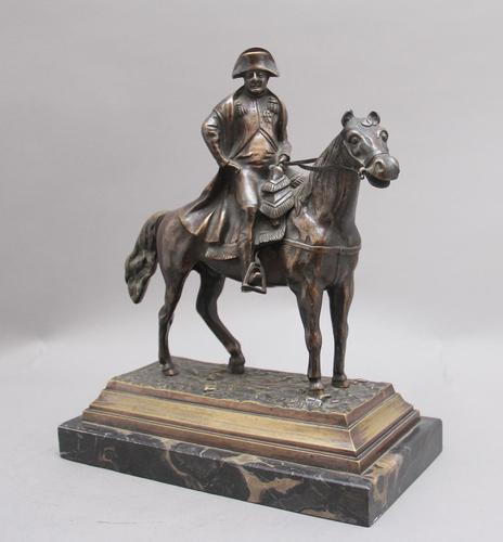 19th Century Bronze of Napoleon on Horseback (1 of 10)