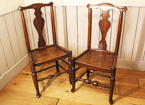 Two Georgian Country Chairs. Ash & Elm (1 of 9)