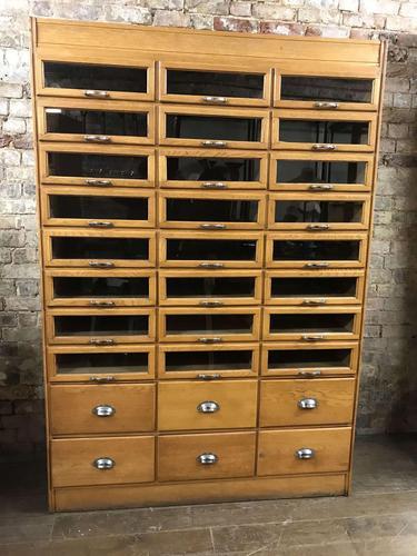 Art Deco Haberdashery Cabinet (1 of 5)