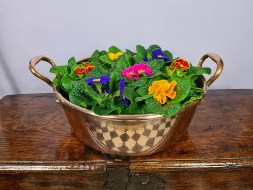 Two-Handled Copper Serving Pan c1890 (1 of 7)