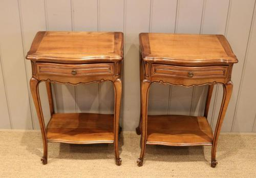 Pair of French Cherrywood Tables (1 of 11)