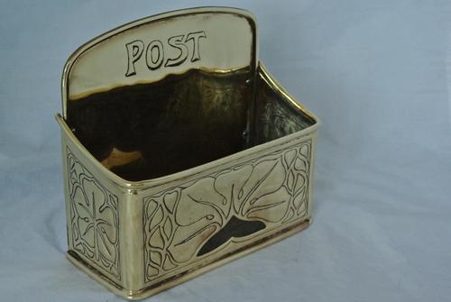 Genuine Ksia Keswick Brass Letter  Rack Post Box Keswick School of Industrial Art (1 of 5)