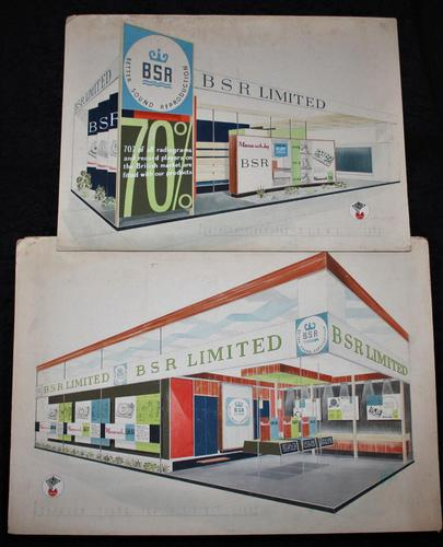 BSR Exhibition Stand Drawings - 1963 (1 of 12)