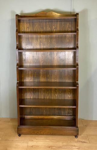 Large Waterfall Open Bookcase (1 of 4)