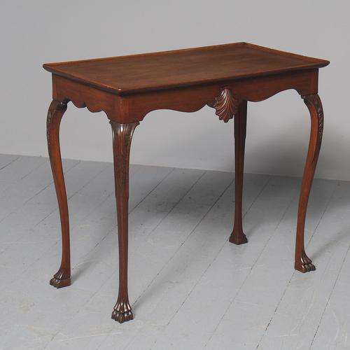 Antique Georgian Style Mahogany Silver Table c.1850 (1 of 7)