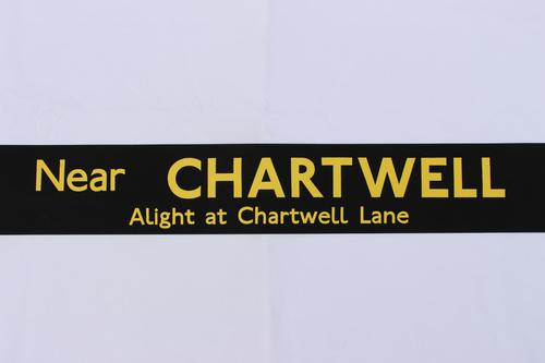London Transport Slipboard Poster for Chartwell (1 of 1)