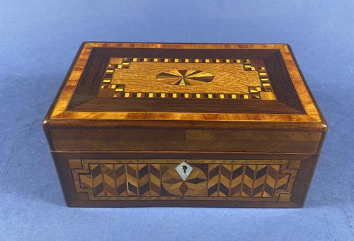 Victorian Rosewood Box With Inlay (1 of 17)