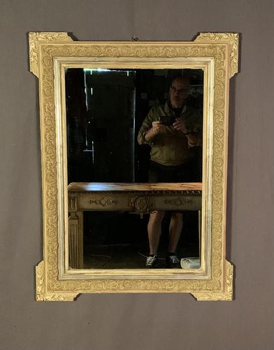 Decorative French Painted & Silver Gilt Mirror (1 of 6)