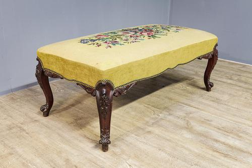 Large Country House Stool 19th Century (1 of 6)