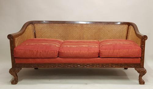 Bergere , Cane Sofa (1 of 8)