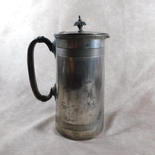 19th Century, Silver Plate Lidded Jug by  Cooper Bros Sheffield (1 of 5)