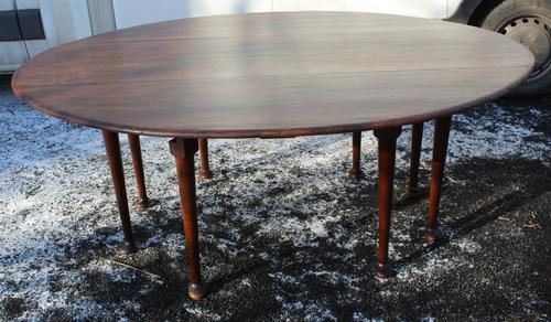 1900s Mahogany Wakes Table with Pad Feet (1 of 5)