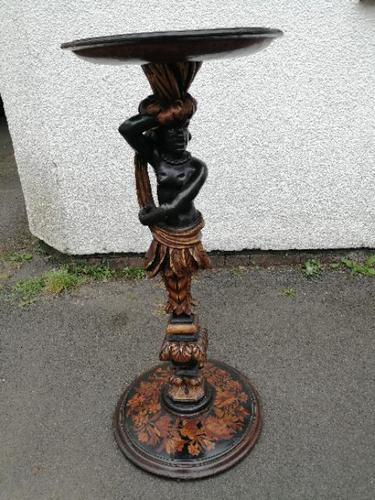 Striking 19th Century Figural Torchére (1 of 9)