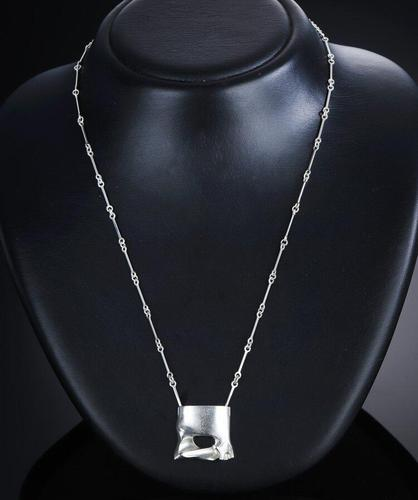 Lapponia Silver Necklace/pendant. By Bjorn Weckstrom (1 of 4)