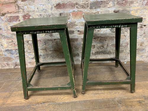 Green Iron Stools (1 of 5)
