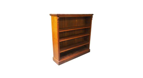 Walnut Bookcase By James Shoolbred (1 of 1)