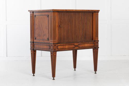 18th Century Dutch Tambour Cabinet (1 of 7)