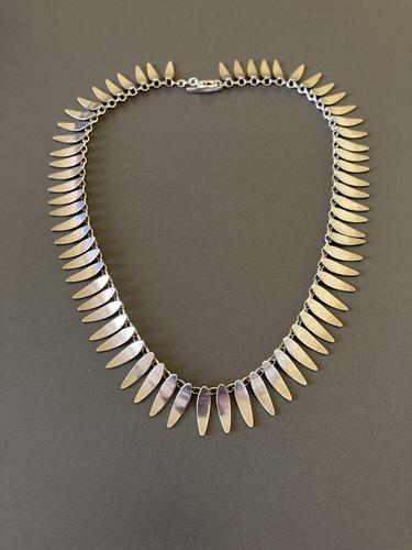 Danish Sterling Silver Necklace by Th. Skat-rordam (1 of 4)