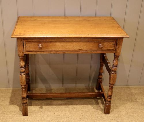 Light Oak Hall Table (1 of 11)