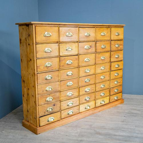 Large Bank of Drawers (1 of 9)