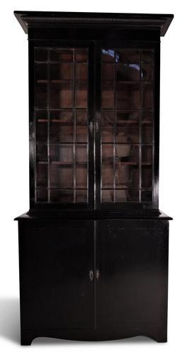 English Ebonised Bookcase (1 of 5)