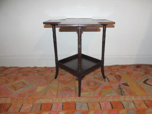 Arts & Crafts Rosewood Table (1 of 10)