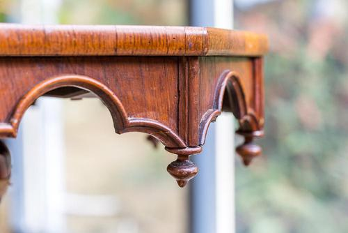 Victorian Oak Octagonal Table (1 of 15)