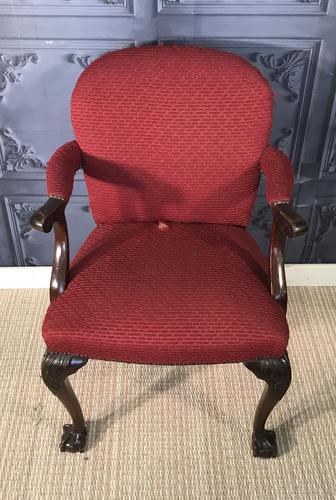 Mahogany Desk Chair c.1920 (1 of 8)