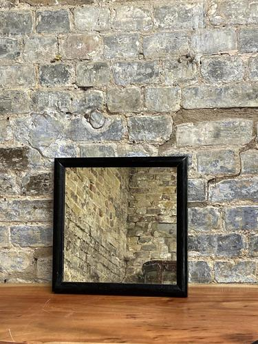 1920s Black Table Mirror (1 of 2)
