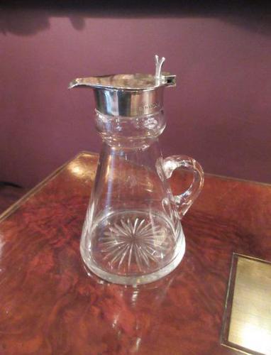 Antique Silver Whisky Noggin Decanter (1 of 6)